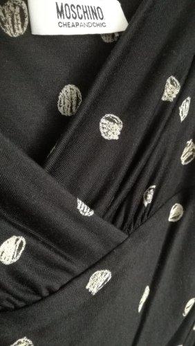 Moschino Midi Dress Wickelstil Gr 38/40