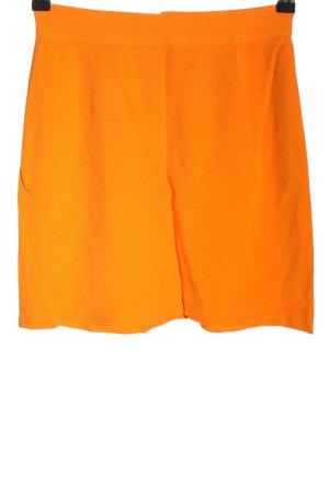 Moschino Minigonna arancione chiaro stile casual