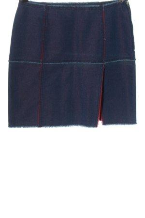 Moschino Minirock blau Casual-Look