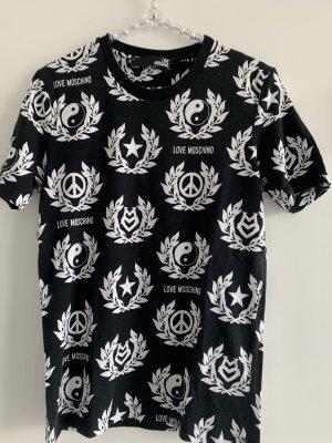Moschino T-Shirt black-white