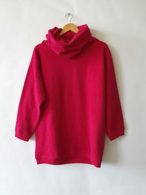 Moschino Oversize Pullover Wolle Gr. S/36 pink