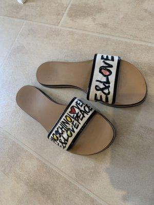 Love Moschino Beach Sandals white