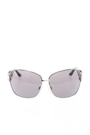 Moschino Pilot Brille schwarz-silberfarben Casual-Look