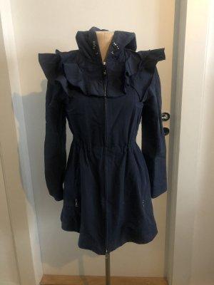 Love Moschino Manteau de pluie bleu foncé
