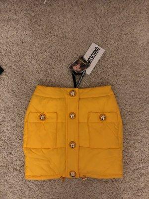 Moschino Miniskirt yellow-gold-colored
