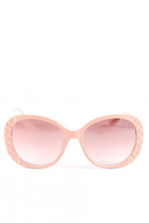 Moschino runde Sonnenbrille pink Casual-Look