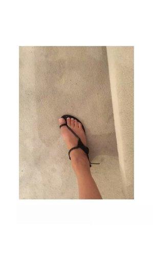 Moschino Cheap and Chic Sandalo toe-post nero