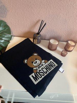 Moschino Cashmere Scarf dark blue