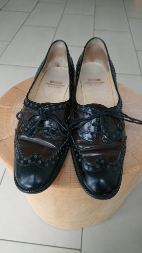 Love Moschino Wingtip Shoes black-brown