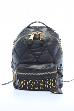"Moschino Schulrucksack ""Quilted Logo Backpack"""