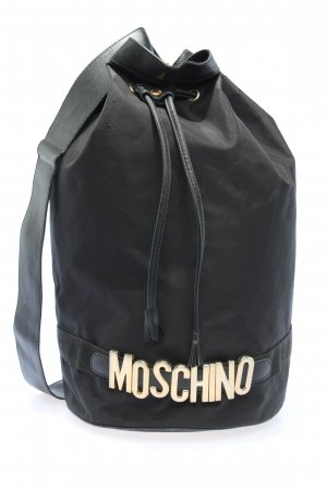 Moschino School Backpack black casual look