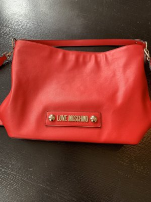 Love Moschino Pouch Bag red