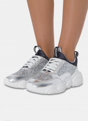 Moschino Sneaker Glitter Gr 40