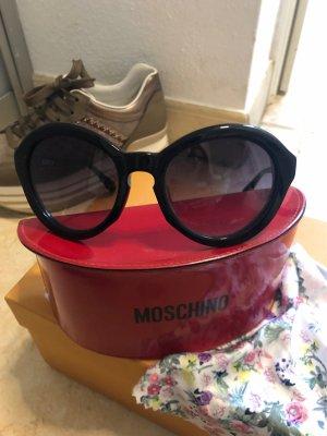 Moschino Occhiale stile retro nero