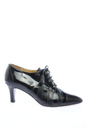 Moschino Lace-up Pumps black elegant
