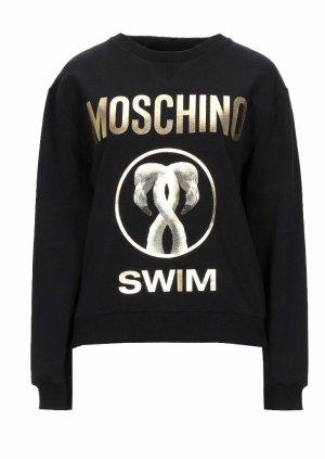 Moschino Bluza dresowa czarny
