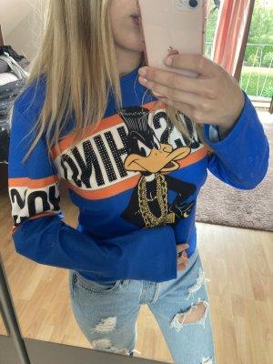 Love Moschino Long Sweater blue