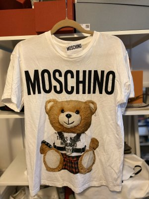 Boutique Moschino Oversized Shirt white