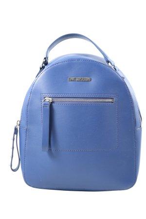 Moschino Sac à dos bleu style décontracté