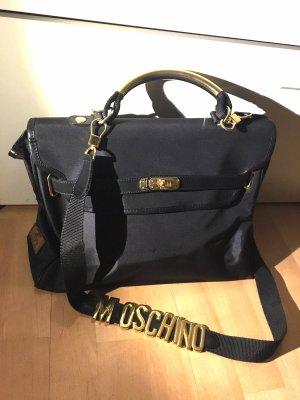 Moschino Tasche Schultertasche Shopper Kelly bag schwarz mit Rechnung