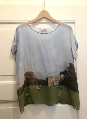 Moschino Top Shirt Seide edel