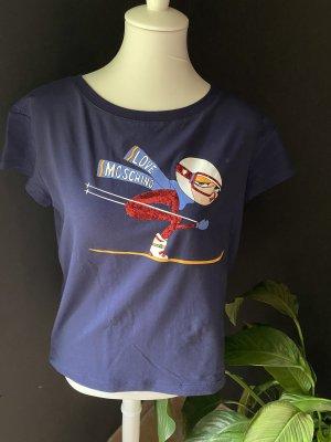Moschino Tshirt Pailettenbesetzt
