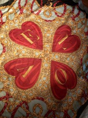 Moschino Foulard en soie multicolore