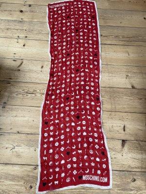 Moschino Zijden doek veelkleurig