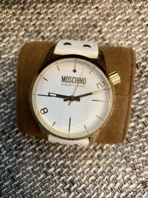 Moschino Uhr weiß / Gold .. top Np 99€