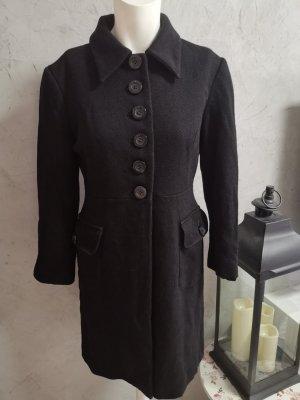 Moschino Jeans Manteau en laine noir laine
