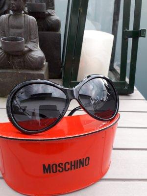 Moschino Lunettes retro noir