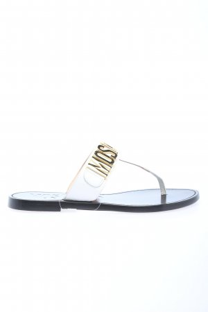 """Moschino Toe-Post sandals """"Shoe Cuoio15"""""""