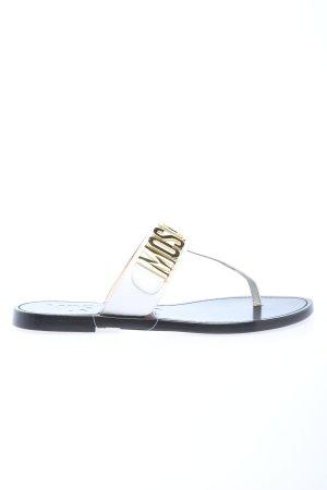 """Moschino Zehentrenner-Sandalen """"Shoe Cuoio15"""""""