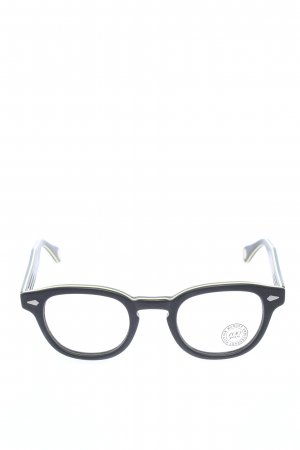 Moscot Brille schwarz Casual-Look