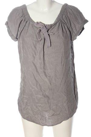 Moscow Carmen blouse lichtgrijs elegant