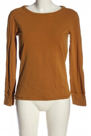 Moscow Langarm-Bluse braun Casual-Look