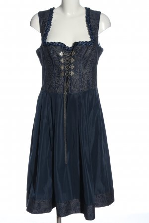 Moser Dirndl bleu style classique