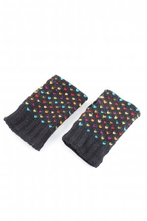 Moshiki Knitted Gloves allover print casual look