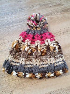 Moshiki Cappello a maglia multicolore