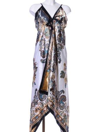 Mosi Trägerkleid abstraktes Muster Elegant