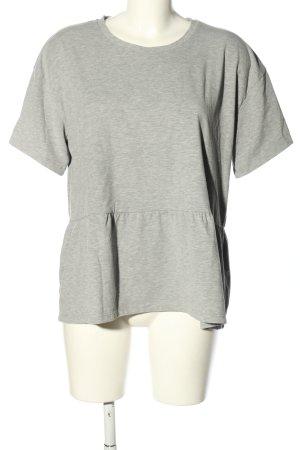 Moss Copenhagen T-Shirt hellgrau Casual-Look