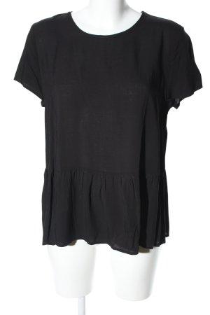 Moss Copenhagen Oversized Shirt schwarz Business-Look