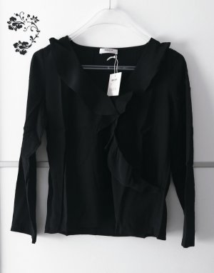 Moss Copenhagen Ruffled Blouse black