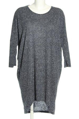 Moss Copenhagen Shirtkleid hellgrau Allover-Druck Casual-Look