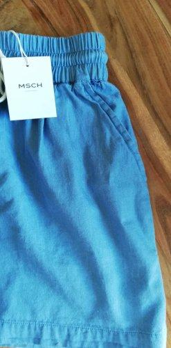 Moss Copenhagen Shorts blau Hipster Shorts Jeans NUSHKA NEU 34