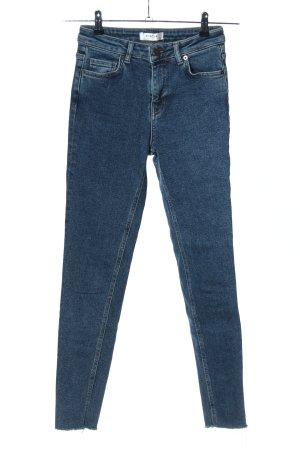Moss Copenhagen Skinny Jeans blau Casual-Look