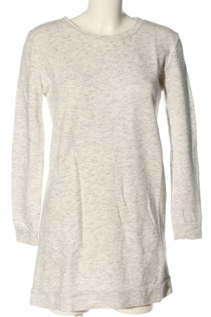 Moss Copenhagen Sweat Shirt light grey-cream flecked casual look