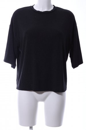 Moss Copenhagen T-Shirt schwarz Casual-Look