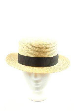MOSSANT Straw Hat primrose-black casual look