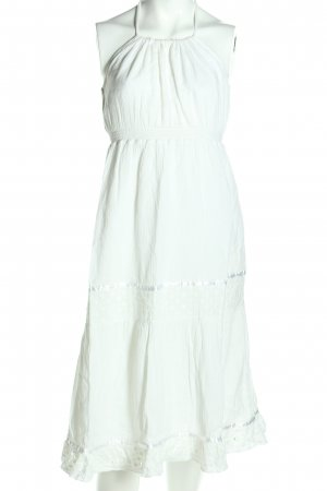 Mossimo Supply Co. Abito con corpetto bianco stile casual